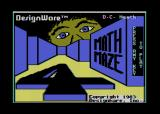 Math Maze Atari 8-bit Title screen