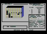 Crypto Cube Atari 8-bit The cube has multiple sides to solve
