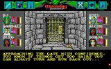 Wizardry: Bane of the Cosmic Forge DOS Entering the dungeon, accompanied by well-written text. Scare much? That's nothing compared to what awaits you inside...