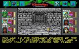 Wizardry: Bane of the Cosmic Forge DOS You are in the castle. (EGA)