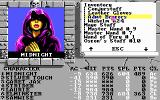 The Bard's Tale III: Thief of Fate DOS Equipment screen