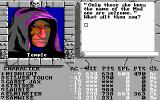 The Bard's Tale III: Thief of Fate DOS Speaking with the priest. You need a password to enter the dungeon