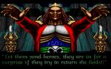 Hexx: Heresy of the Wizard DOS The wizard has scattered the talismans... bad luck for the gods