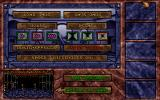 Hexx: Heresy of the Wizard DOS Options menu