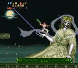 Run Saber SNES The boss of the second level