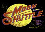 Moon Shuttle Atari 8-bit Title screen