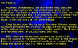 MegaTraveller 2: Quest for the Ancients DOS Text-only intro