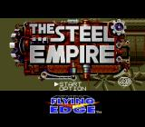 The Steel Empire Genesis Title screen