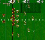 NCAA Football Genesis Action is seen from the sidelines, unlike Madden