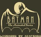 Batman: The Animated Series Game Boy Title Screen