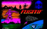 Fugitif: Les Aventures de Jack Bludfield - Part 1 Amstrad CPC Loading screen