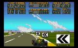 F17 Challenge Amiga Brazil - sharp curve to the left