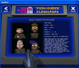 Tek-Kids Flash-Ops: Mission: Sky Fortress Windows Character selection