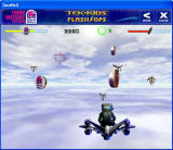 Tek-Kids Flash-Ops: Mission: Sky Fortress Windows Gameplay, with Taco Bell powerups in view
