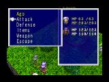 Lucienne's Quest 3DO A battle menu.