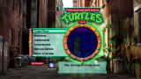 Teenage Mutant Ninja Turtles Xbox 360 Main menu