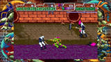 Teenage Mutant Ninja Turtles Xbox 360 Exploring the sewers.