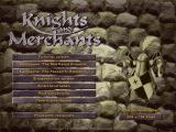 Knights and Merchants: The Peasants Rebellion Windows Main menu