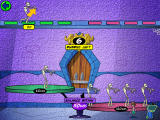 Cyberchase: Castleblanca Quest Windows Help the mummies into the restaurant by balancing the scale