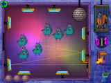 Cyberchase: Castleblanca Quest Windows The Disco Deflector game-- line up the mirrors to reflect the beam to the disco ball without hitting the monsters