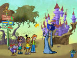Cyberchase: Castleblanca Quest Windows This witch describes the problem that Dracula is having in his castle