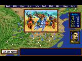 Romance of the Three Kingdoms III: Dragon of Destiny DOS You are off to the war
