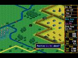 Romance of the Three Kingdoms III: Dragon of Destiny DOS Preparing to attack a city!