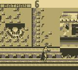 Batman Forever Game Boy Train Station Fight