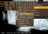Suikoden V PlayStation 2 Different equipment can raise and lower your stats