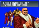 The King of Fighters '96 Neo Geo Victory screen.