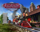 Sid Meier's Railroads! Windows Main menu