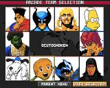 Eat the Whistle Amiga Select a fantasy team for the arcade mode