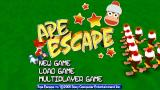 Ape Escape: On the Loose PSP Title screen (European version)