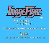 ImageFight NES Title screen