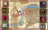 Sherlock Holmes: Consulting Detective - Volume III DOS A map of London
