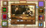 Sherlock Holmes: Consulting Detective - Volume III DOS Sorting through evidence from the scene of the crime with Lestrade