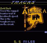 Road Rash Game Boy Color Alaska Map