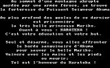 Karateka Amstrad CPC Introduction Story (in French)...