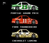 Bill Elliott's NASCAR Challenge NES Select your stock car