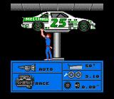 Bill Elliott's NASCAR Challenge NES Choose between five different adjustments to your stock car