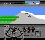 Bill Elliott's NASCAR Challenge NES Prepare to left turn