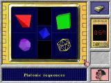 The Crystal Maze DOS Platonic sequences