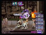Ar tonelico: Melody of Elemia PlayStation 2 Battle; Aurica prepares some fire magic