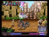 Ar tonelico: Melody of Elemia PlayStation 2 Selecting a target in battle