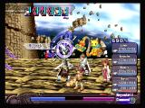 Ar tonelico: Melody of Elemia PlayStation 2 That cat with a vacuum is song magic that helps with defense