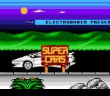 Supercars NES Title Screen.