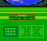 Ultimate League Soccer NES Selecting period duration and team formation.