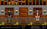 Gunshoot Amiga Masked robber with two guns