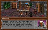 Warriors of Legend DOS Talking with a NPC
