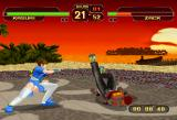 Dead or Alive SEGA Saturn The game runs in the highest resolution Saturn can pull - 352x480!